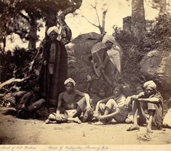 Group of Malaiyalis, Shevaroy Hills. 4386